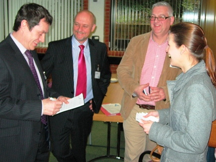 Delegates at Chichester's Sustainable Business Breakfast