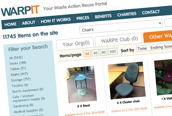 WARPit-Website