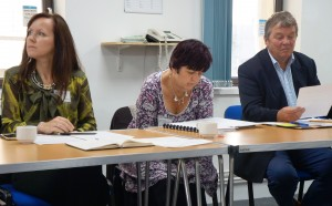 Delegates working on a learning activity at the Tendering Masterclass, 30th SEpt 2015
